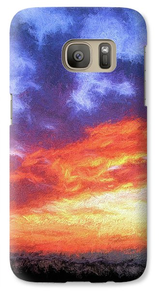 Sunset In Carolina Galaxy S7 Case