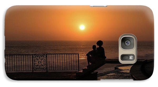 Sunset In Cerritos Galaxy S7 Case
