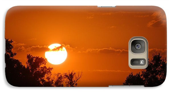 Galaxy Case featuring the photograph Sunset In Charleston by Donna Bentley