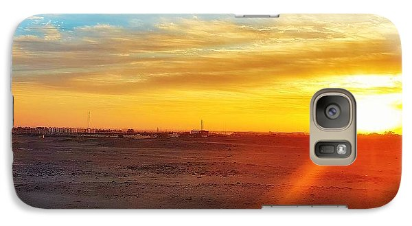 Landscapes Galaxy S7 Case - Sunset In Egypt by Usman Idrees