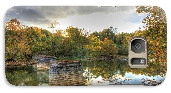 Galaxy Case featuring the digital art Sunset In Murphy by Sharon Batdorf