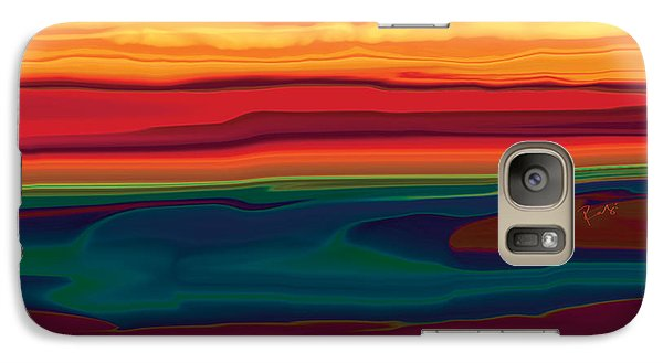 Galaxy Case featuring the digital art Sunset In Ottawa Valley by Rabi Khan