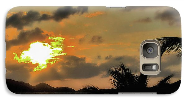 Galaxy Case featuring the photograph Sunset In Paradise by Jim Hill