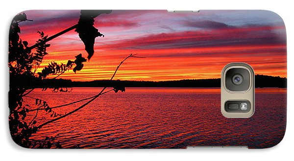 Galaxy Case featuring the photograph Sunset In Pennsylvania by Donna Brown