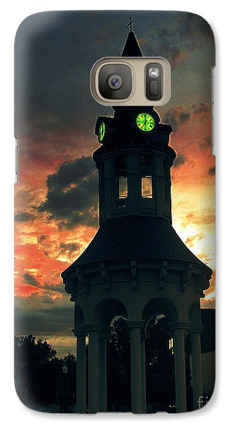 Galaxy Case featuring the digital art Sunset In Red Bluff by Irina Hays