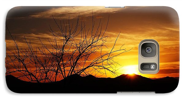 Galaxy Case featuring the photograph Sunset by Joseph Frank Baraba