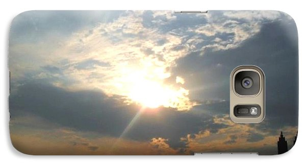 Galaxy Case featuring the photograph Sunset New York  by Vannetta Ferguson