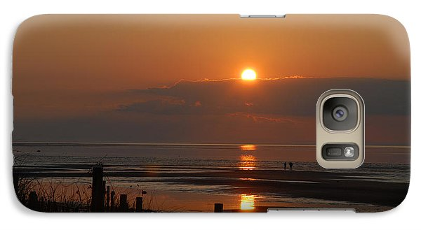 Galaxy Case featuring the photograph Sunset On Cape Cod by Alana Ranney
