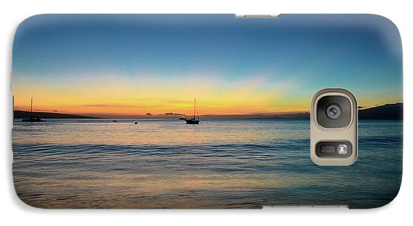 Galaxy Case featuring the photograph Sunset On Ka'anapali Beach by Kelly Wade