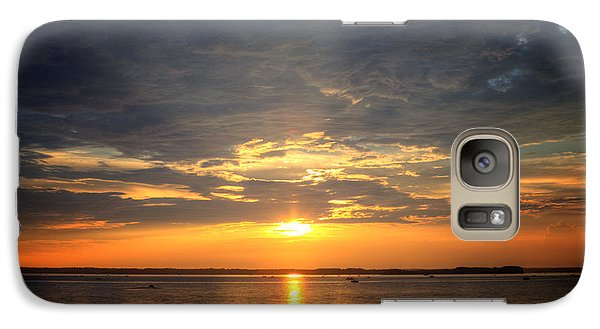 Galaxy Case featuring the photograph Sunset On Lake Hartwell by Lynne Jenkins