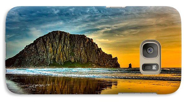 Sunset On The Rocks Galaxy S7 Case