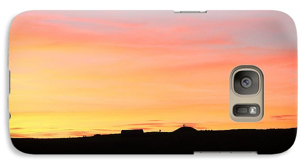 Galaxy Case featuring the photograph Sunset Over Cairnpapple by RKAB Works