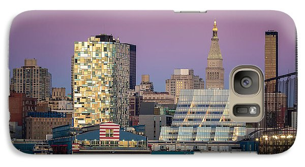 Galaxy Case featuring the photograph Sunset Over Chelsea by Eduard Moldoveanu