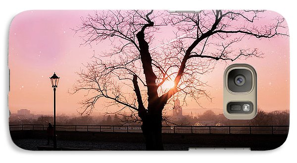 Galaxy Case featuring the photograph Sunset Over Krakow by Juli Scalzi