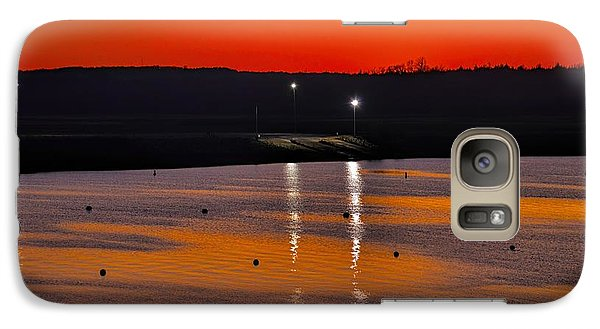 Galaxy Case featuring the photograph Sunset Over Lake Texoma by Diana Mary Sharpton