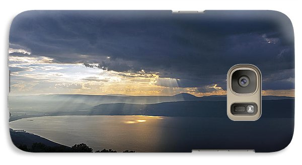 Sunset Over The Sea Of Galilee Galaxy S7 Case