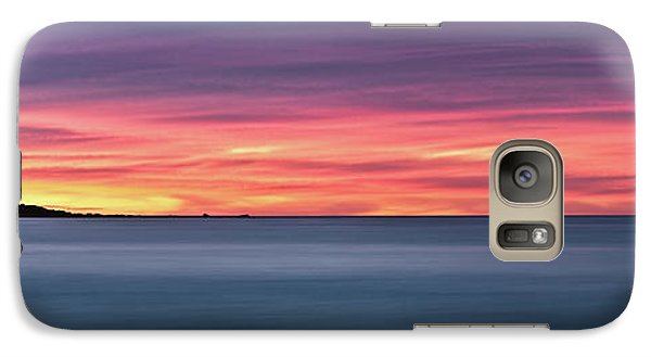 Galaxy Case featuring the photograph Sunset Penisular, Bunker Bay by Dave Catley