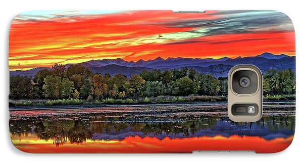 Galaxy Case featuring the photograph Sunset Ponds by Scott Mahon