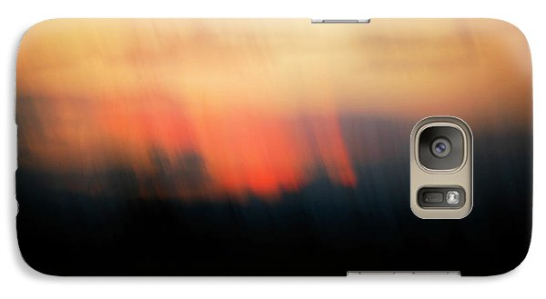 Galaxy Case featuring the photograph Sunset Raining Down by Marilyn Hunt