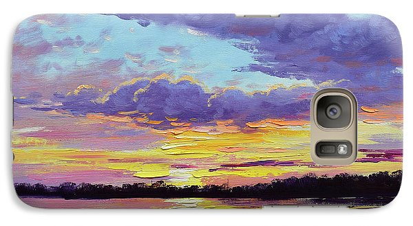 Sunset Reflections Galaxy S7 Case