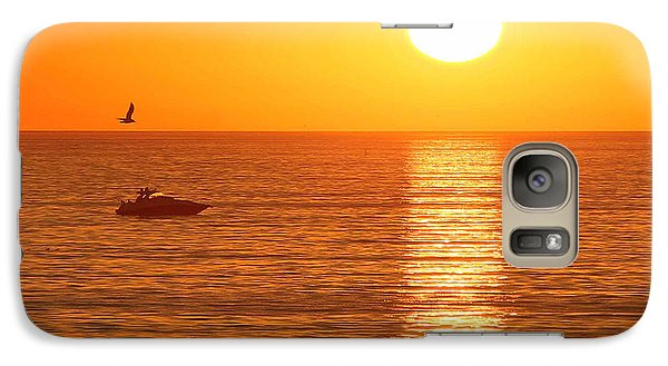 Sunset Solitude Galaxy S7 Case