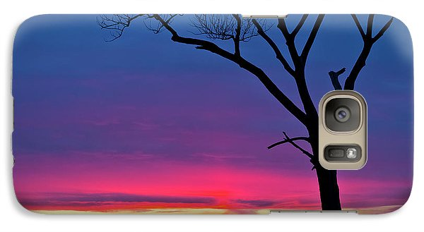 Sunset Sundog  Galaxy S7 Case by Ricky L Jones