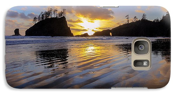 Galaxy Case featuring the photograph Sunset Symphony by Mike Lang