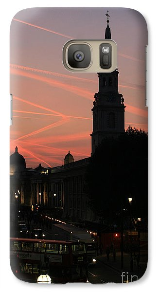 Galaxy Case featuring the photograph Sunset View From Charing Cross  by Paula Guttilla