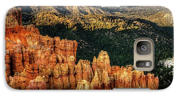 Galaxy Case featuring the photograph Sunsets In The Canyon by Rebecca Hiatt