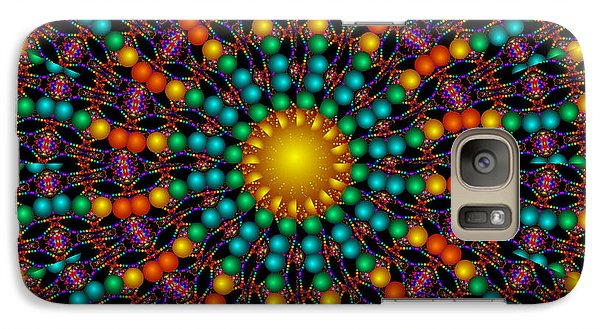 Galaxy Case featuring the digital art Sunshine Daydream by Robert Orinski