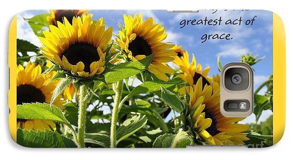 Galaxy Case featuring the photograph Sunshine Lollipops Grace by Diane E Berry