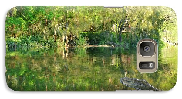 Galaxy Case featuring the photograph Sunshine On Nature By Kaye Menner by Kaye Menner