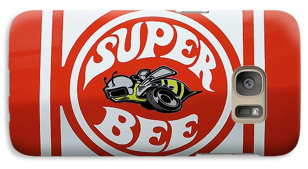 Galaxy Case featuring the photograph Super Bee Emblem by Mike McGlothlen