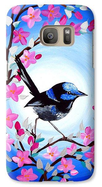 Superb Fairy Wren Galaxy S7 Case