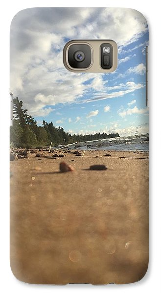 Galaxy Case featuring the photograph Superior Shore by Paula Brown