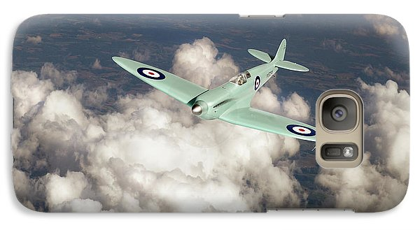 Galaxy Case featuring the photograph Supermarine Spitfire Prototype K5054 by Gary Eason
