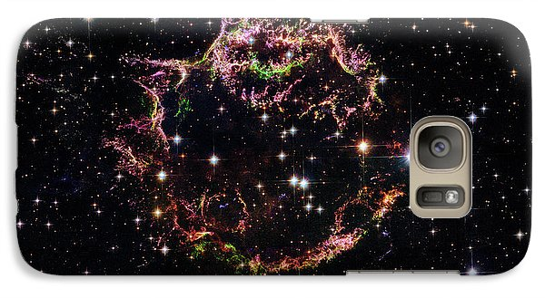 Galaxy Case featuring the photograph Supernova Remnant Cassiopeia A by Marco Oliveira
