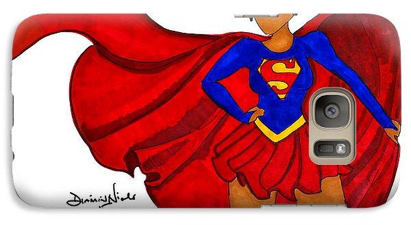 Superwoman I Am  Galaxy Case by Diamin Nicole