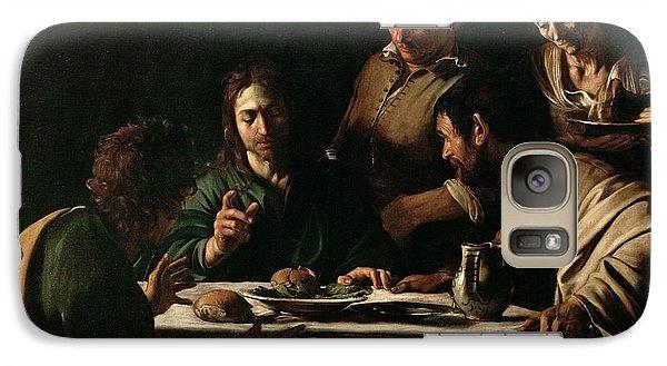 Religion Galaxy S7 Case - Supper At Emmaus by Michelangelo Merisi da Caravaggio