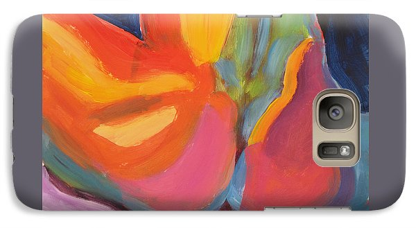 Galaxy Case featuring the painting Supple Buttocks by Shungaboy X