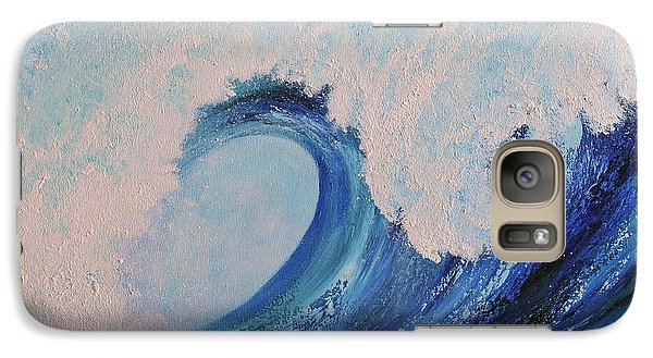 Galaxy Case featuring the painting Surf No.2 by Teresa Wegrzyn