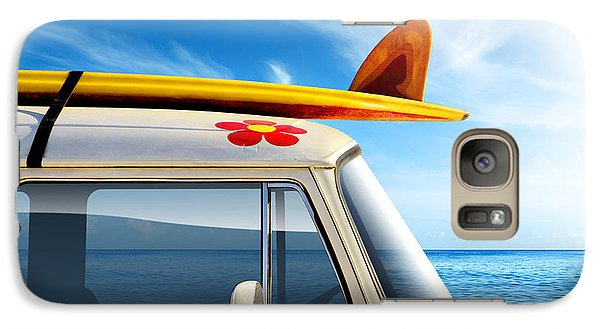 Surf Van Galaxy Case by Carlos Caetano