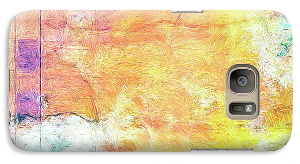 Galaxy Case featuring the painting Surface Vector by Dominic Piperata
