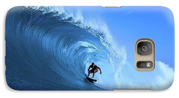 Galaxy Case featuring the photograph Surfer Boy by Movie Poster Prints