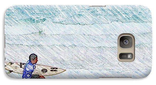 Surfer In Aus Galaxy S7 Case by Daisuke Kondo