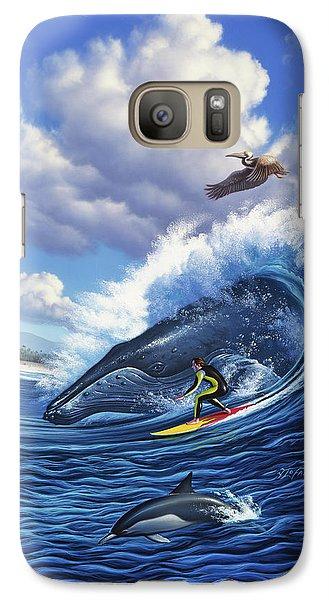 Pelican Galaxy S7 Case - Surf's Up by Jerry LoFaro