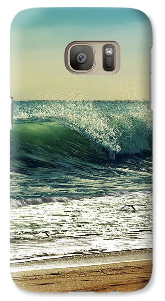 Galaxy Case featuring the photograph Surf's Up by Laura Fasulo