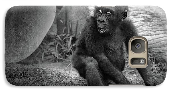 Gorilla Galaxy S7 Case - Surprise by Larry Marshall