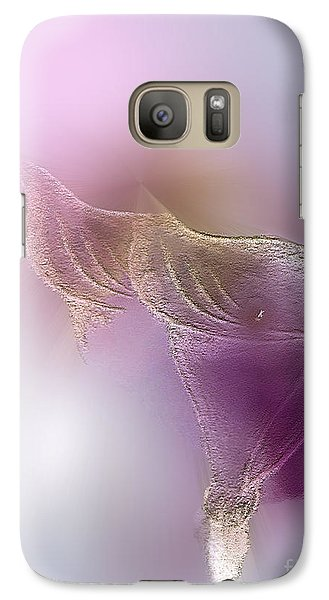 Galaxy Case featuring the digital art Surreal Calla 2 by John Krakora