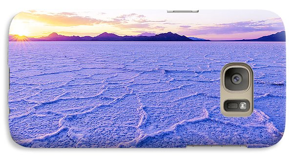 Desert Galaxy S7 Case - Surreal Salt by Chad Dutson